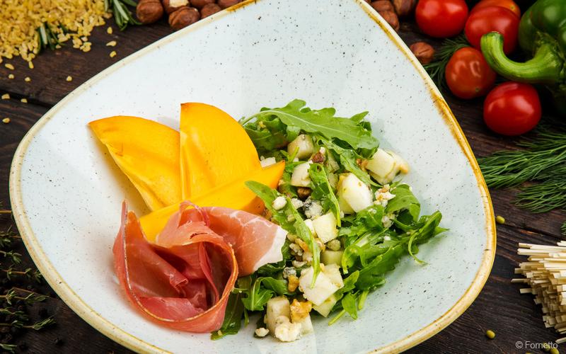 рецепт салата с грушей и